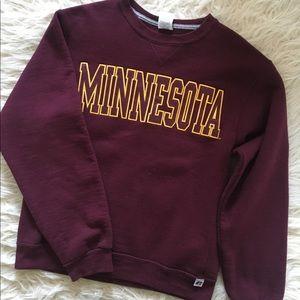 Vintage University of Minnesota Crewneck Sweater